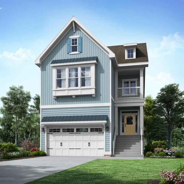 Exterior featured in the Marlene By Insight Homes in Sussex, DE