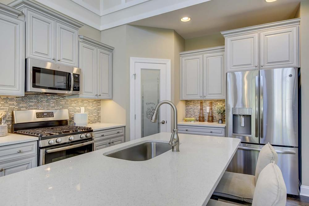 Kitchen featured in the Frank By Insight Homes in Sussex, DE