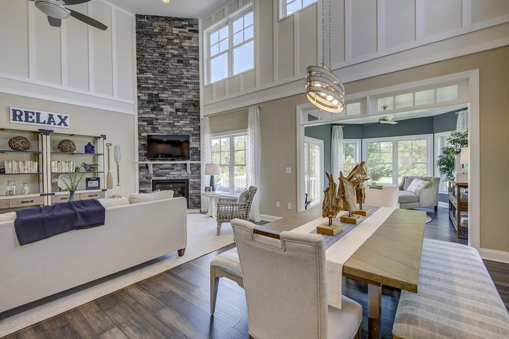 Living Area featured in the Frank By Insight Homes in Sussex, DE