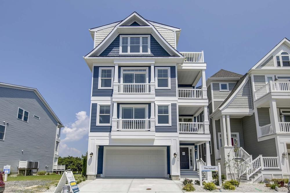 Exterior featured in the Isakoff By Insight Homes in Sussex, DE