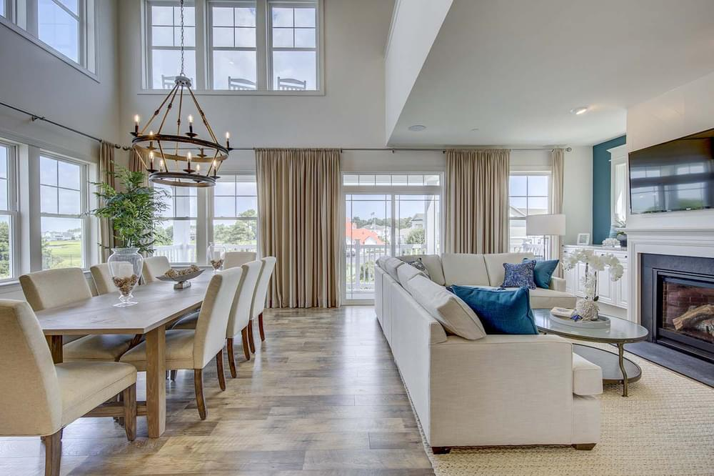 Living Area featured in the Isakoff By Insight Homes in Sussex, DE
