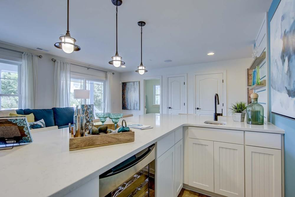 Kitchen featured in the Isakoff Elevation 3 By Insight Homes in Sussex, DE