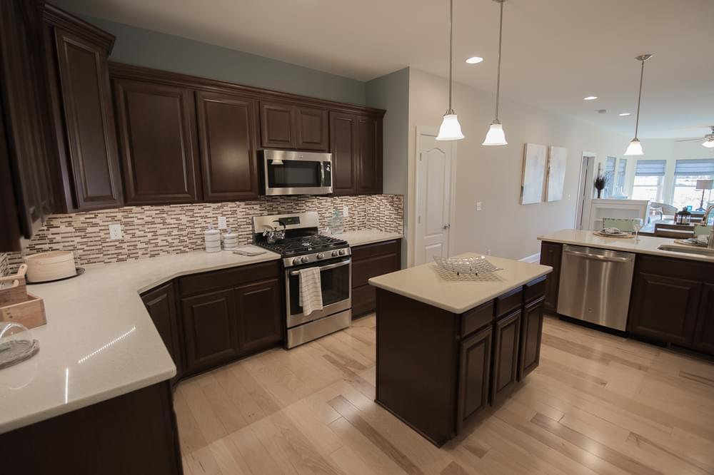 Kitchen featured in the Vandelay By Insight Homes in Sussex, DE