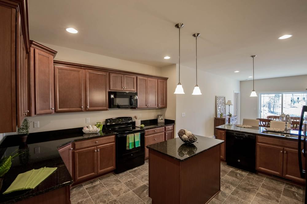Kitchen featured in the Drake By Insight Homes in Sussex, DE