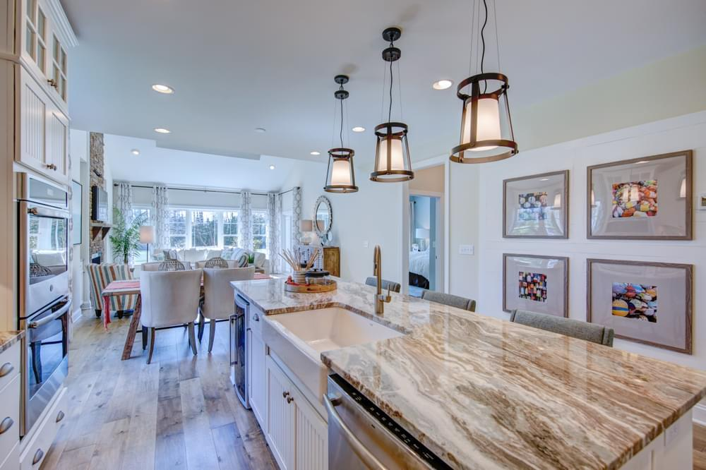Kitchen featured in the Morgan By Insight Homes in Sussex, DE