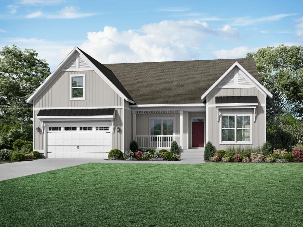 Exterior featured in the Nelson By Insight Homes in Sussex, DE