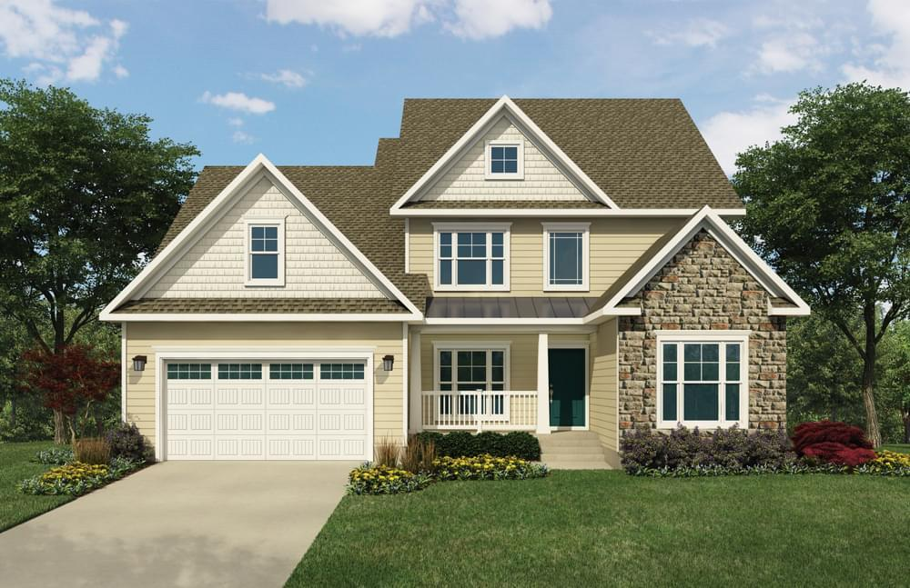 Exterior featured in the Peterman By Insight Homes in Sussex, DE