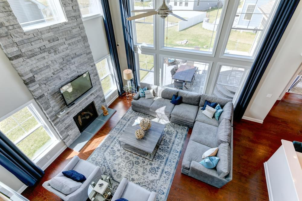 Living Area featured in the Kramer By Insight Homes in Sussex, DE