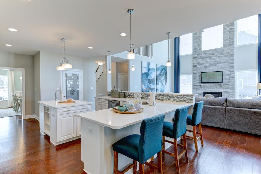 Kitchen featured in the Kramer By Insight Homes in Sussex, DE