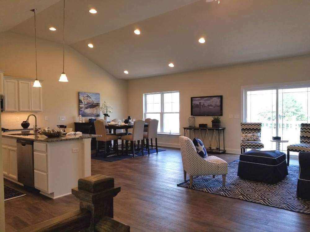 Living Area featured in the Marlene By Insight Homes in Sussex, DE