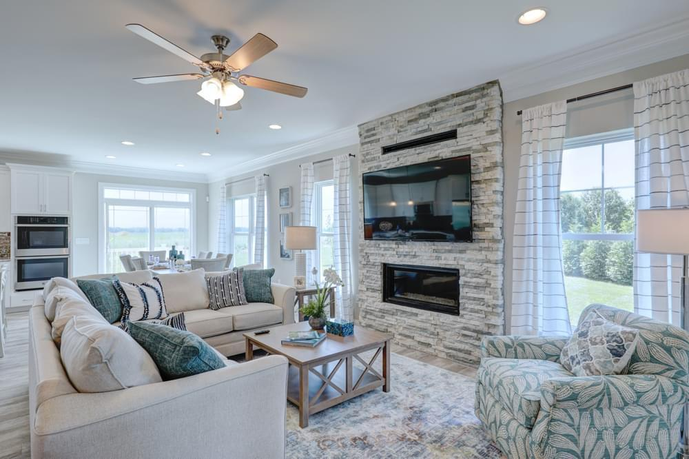 Living Area featured in the Brenner By Insight Homes in Sussex, DE