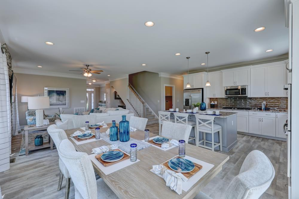 Kitchen featured in the Brenner By Insight Homes in Sussex, DE
