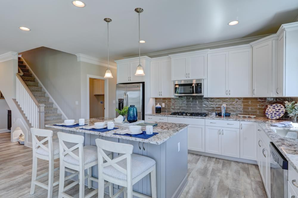 Kitchen featured in the Brenner By Insight Homes in Dover, DE