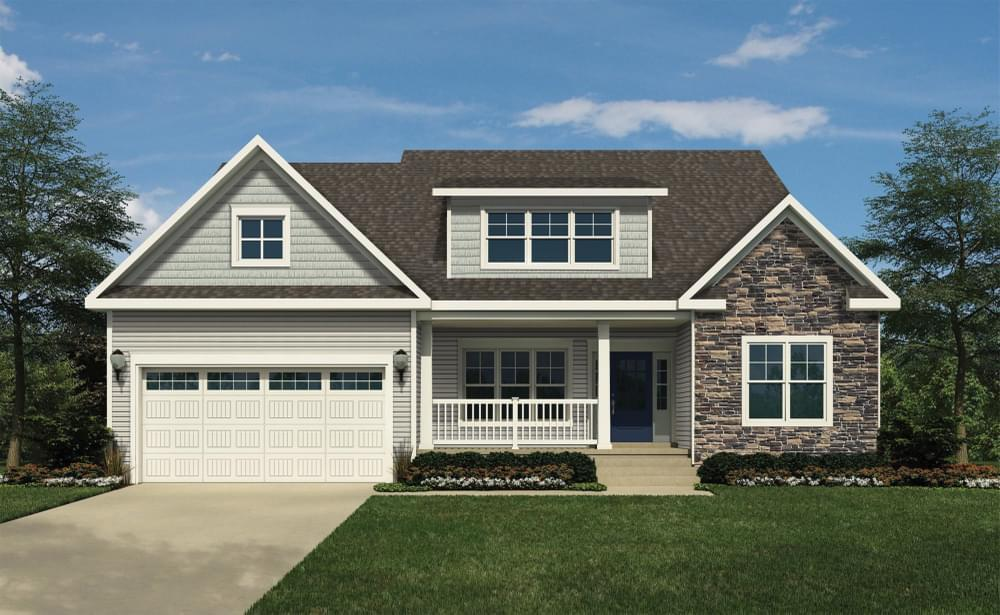 Exterior featured in the Cartwright By Insight Homes in Sussex, DE