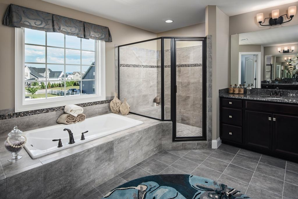Bathroom featured in the Hatteras II By Integrity Homes in Washington, VA