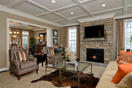 Greatroom-and-Dining-in-The Graye II-at-Fox Chapel Estates-in-Fairfax