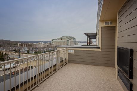 Patio-in-The Magothy-at-Potomac Overlook Brownstones-in-National Harbor