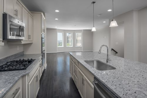 Kitchen-in-The Catoctin-at-Potomac Overlook Brownstones-in-National Harbor