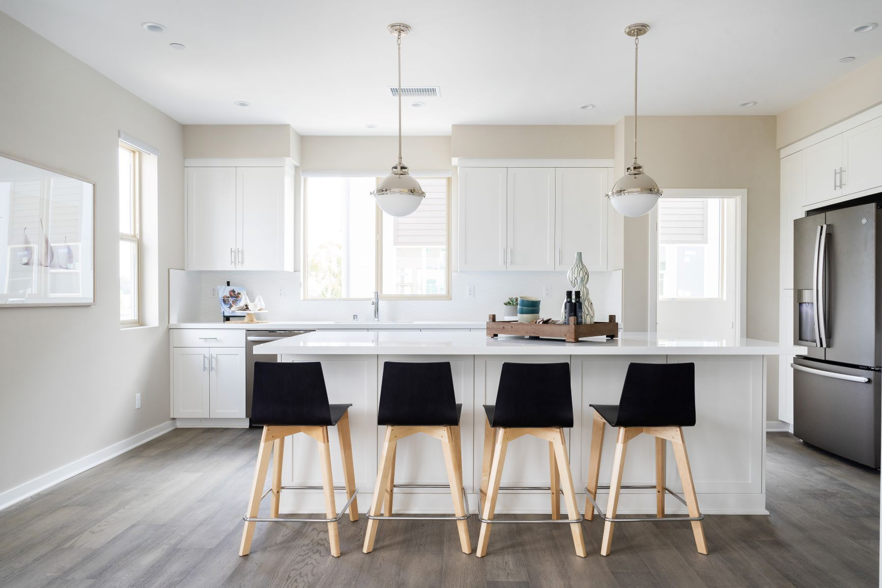 Kitchen featured in the Residence C By Intracorp Companies in Orange County, CA