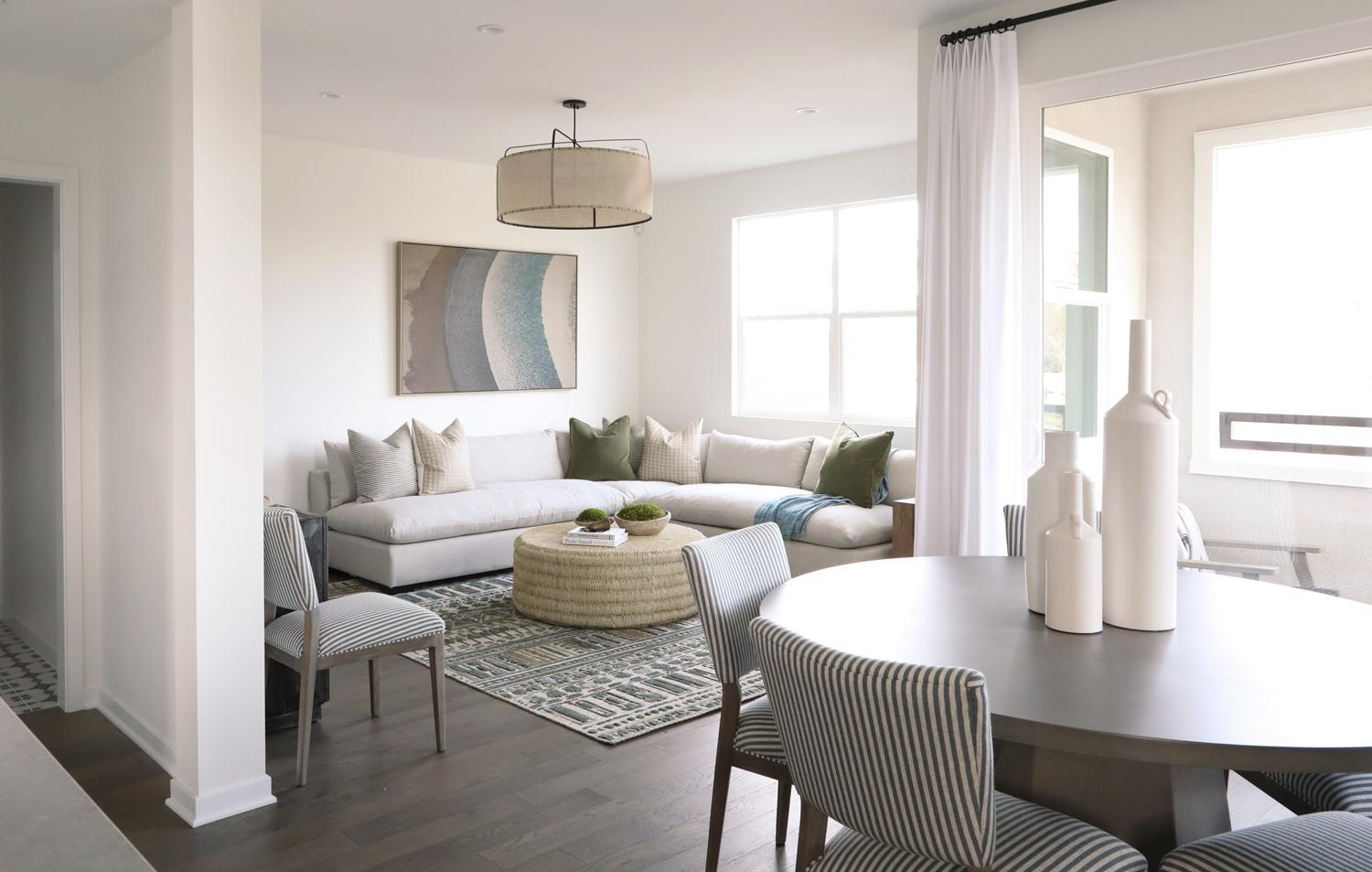 Living Area featured in the Residence 3 By Intracorp Companies in Orange County, CA