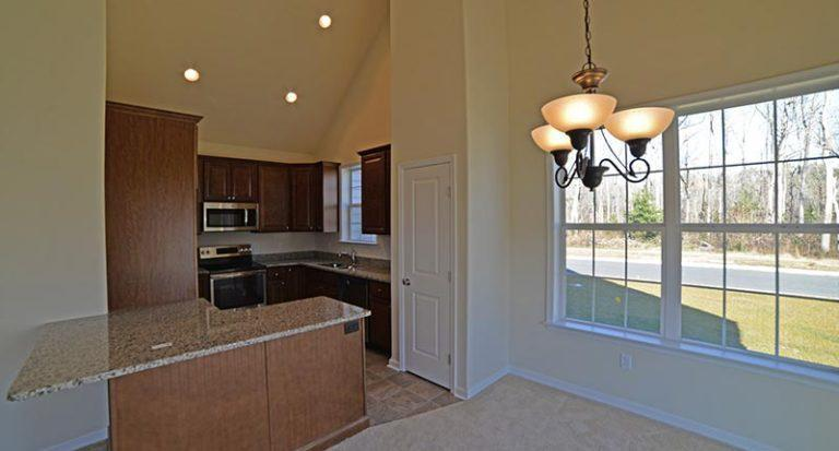 Kitchen featured in The Sussex By Investors Realty in Dover, DE