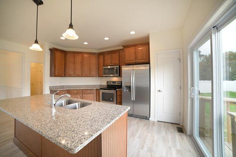 Kitchen featured in The Rosecomb II By Investors Realty in Dover, DE