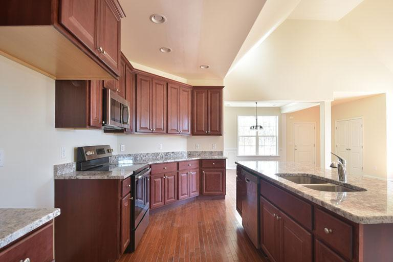 Kitchen featured in The Rosecomb III By Investors Realty in Dover, DE