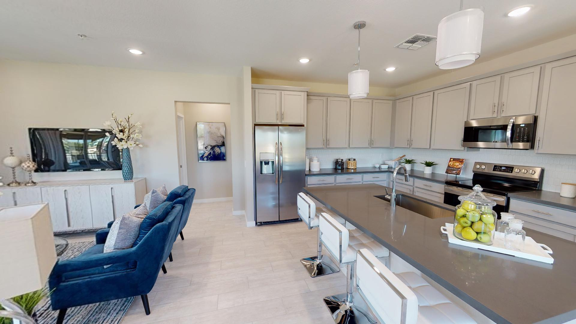 Kitchen featured in the Villa Residence 4 By Ironwood-Waterfall LLC in Phoenix-Mesa, AZ