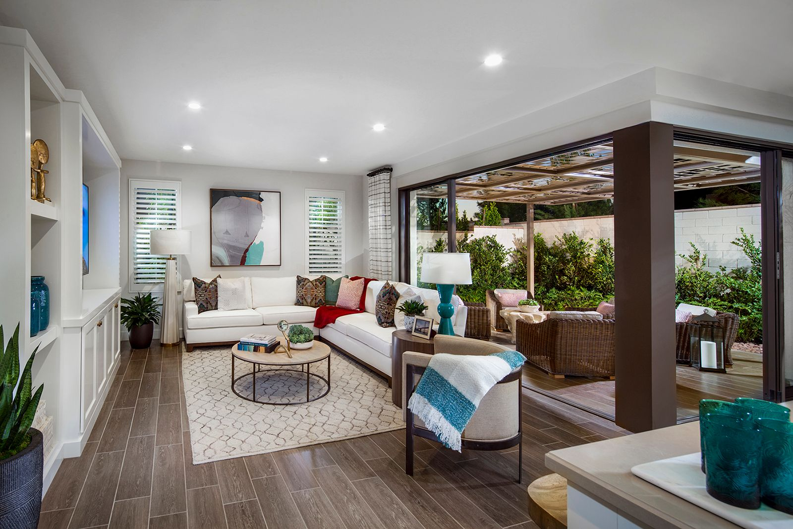 Living Area featured in the Residence 1 By Irvine Pacific in Orange County, CA