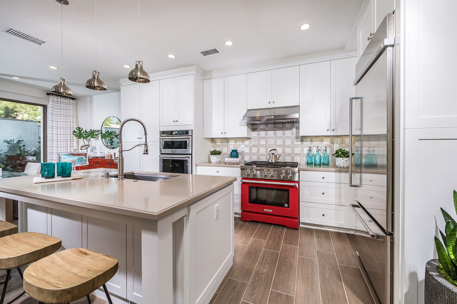 Kitchen featured in the Residence 1 By Irvine Pacific in Orange County, CA