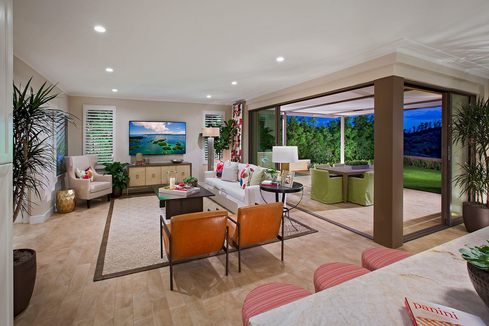 Living Area featured in the Residence 2 By Irvine Pacific in Orange County, CA