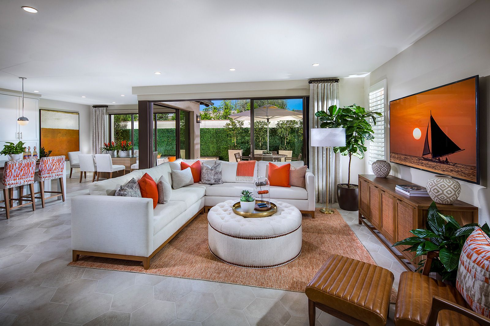 Living Area featured in the Residence 3 By Irvine Pacific in Orange County, CA