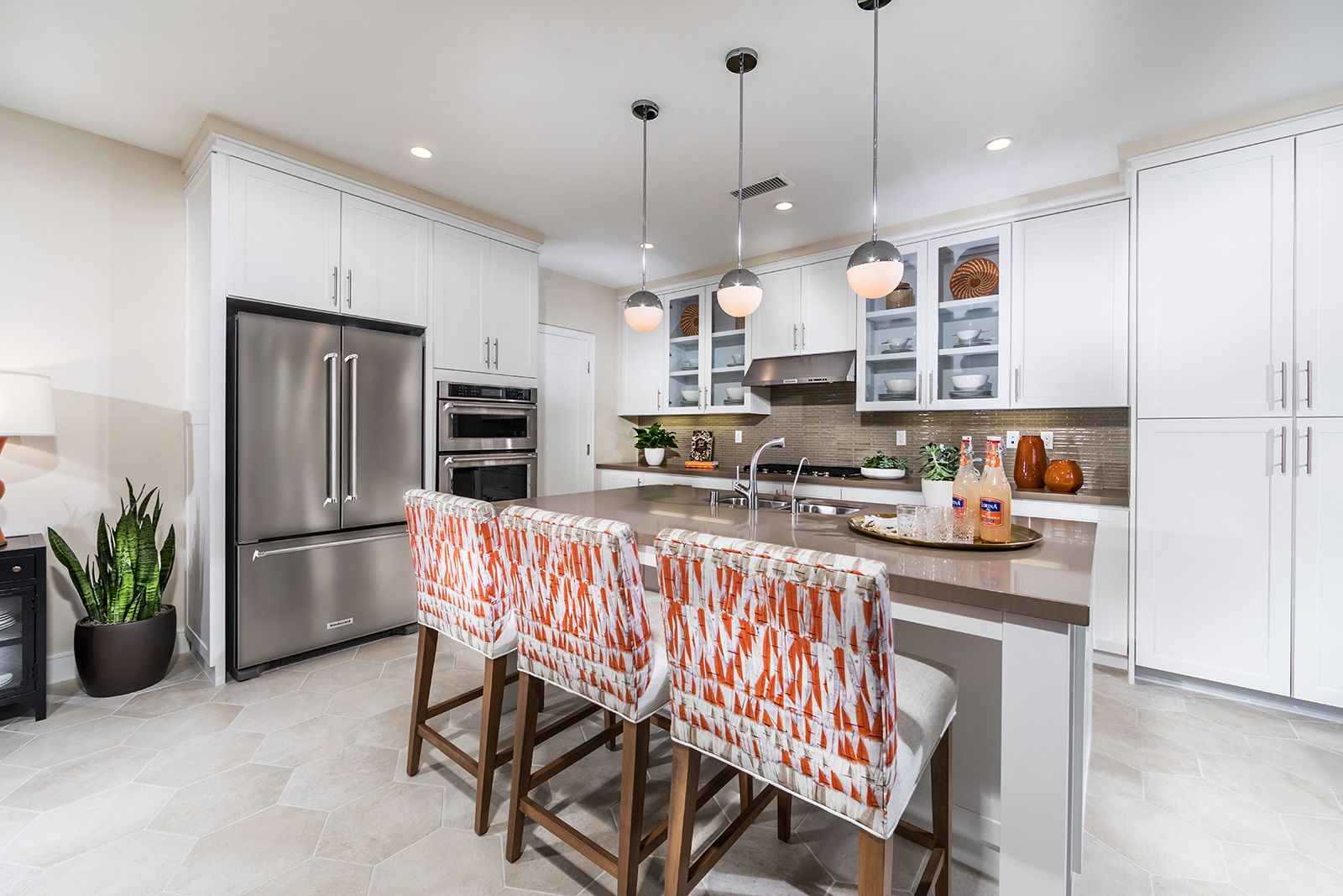 Kitchen featured in the Residence 3 By Irvine Pacific in Orange County, CA