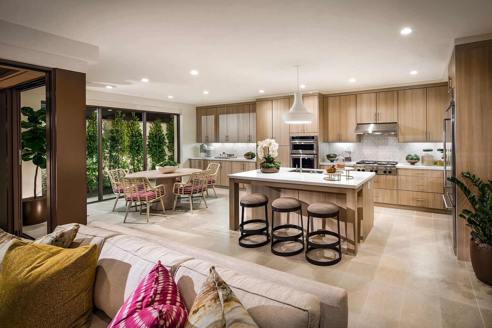 Living Area featured in the Residence 4 By Irvine Pacific in Orange County, CA