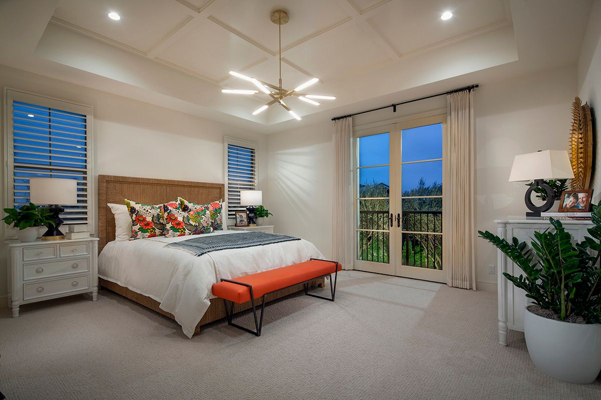 Bedroom featured in the Residence 2 By Irvine Pacific in Orange County, CA