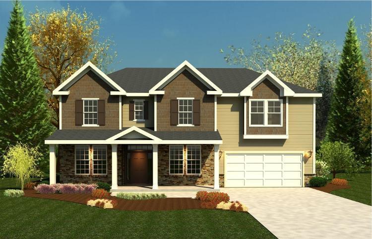 Crawford Creek in Evans GA New Homes Floor Plans by Ivey Residential
