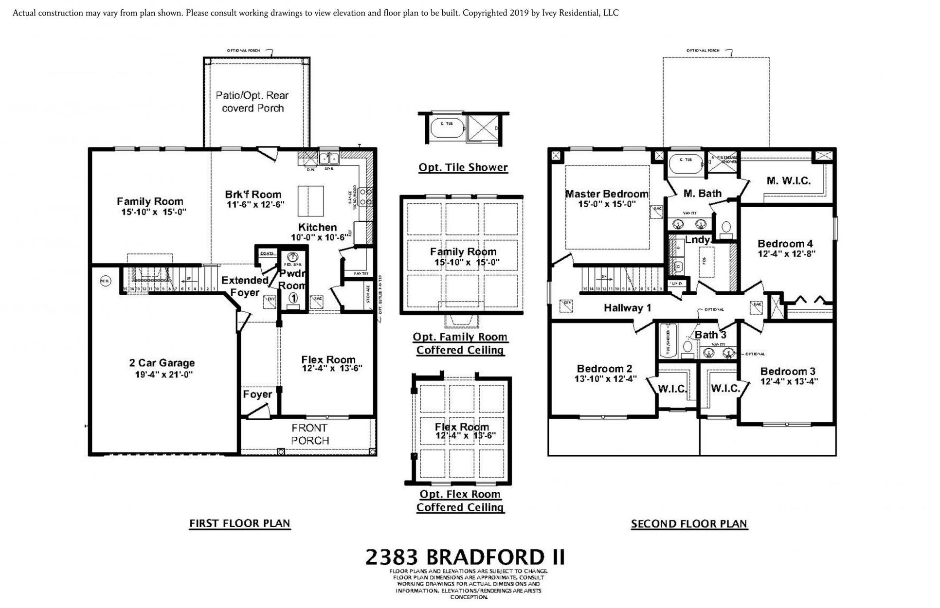 Bradford Ii Plan At Windsor In North Augusta Sc By Ivey Residential