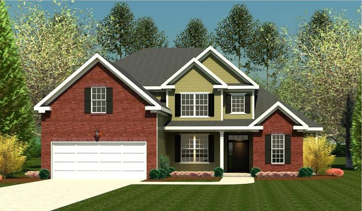 Exterior:Belmont Springs III 3150 Elev A