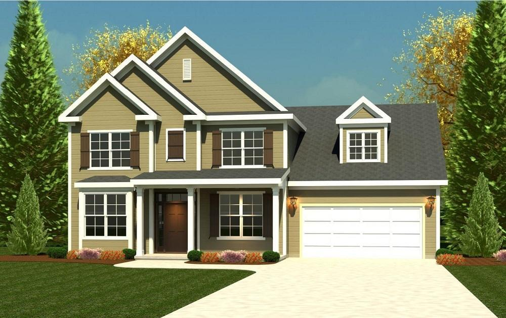 Canterbury Farms in Grovetown GA New Homes Floor Plans by Ivey