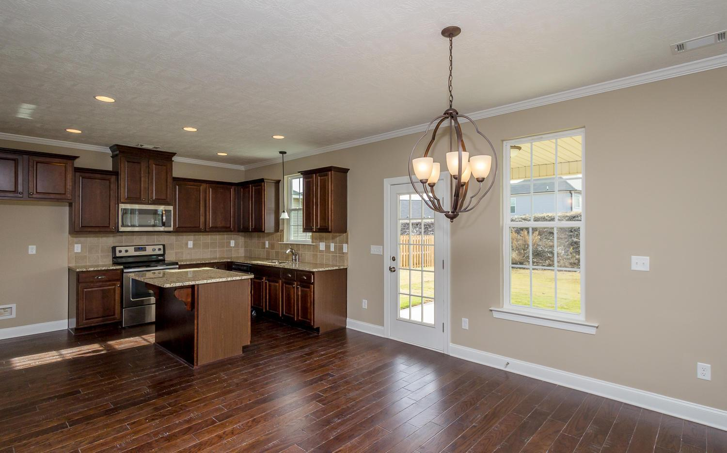Kitchen featured in the Bradford II By Ivey Residential in Augusta, SC