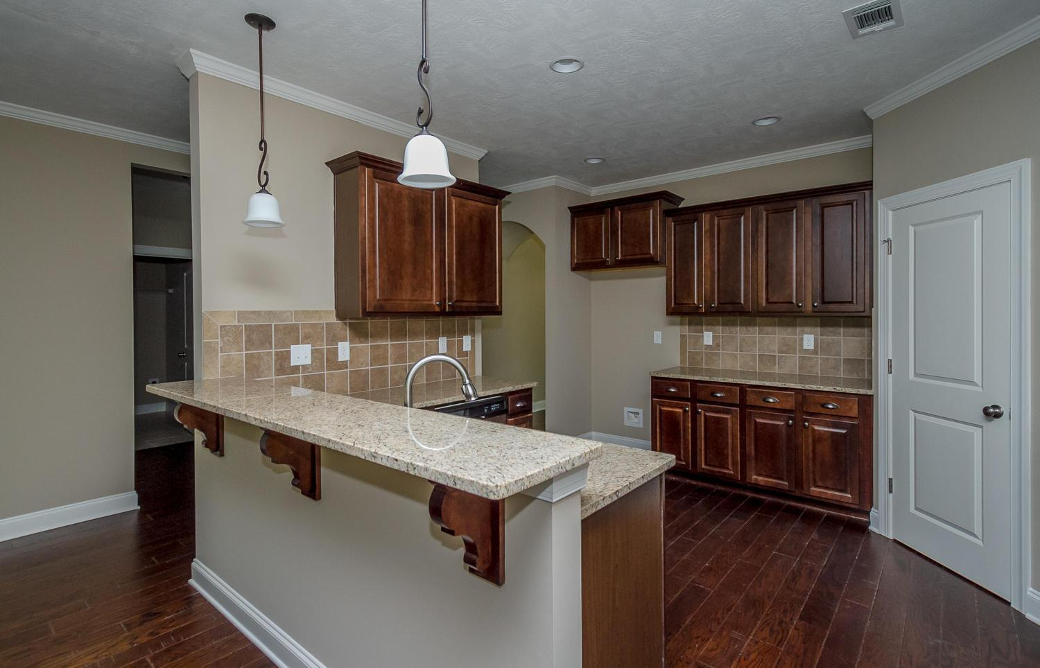Kitchen featured in the Glendale By Ivey Residential in Augusta, GA