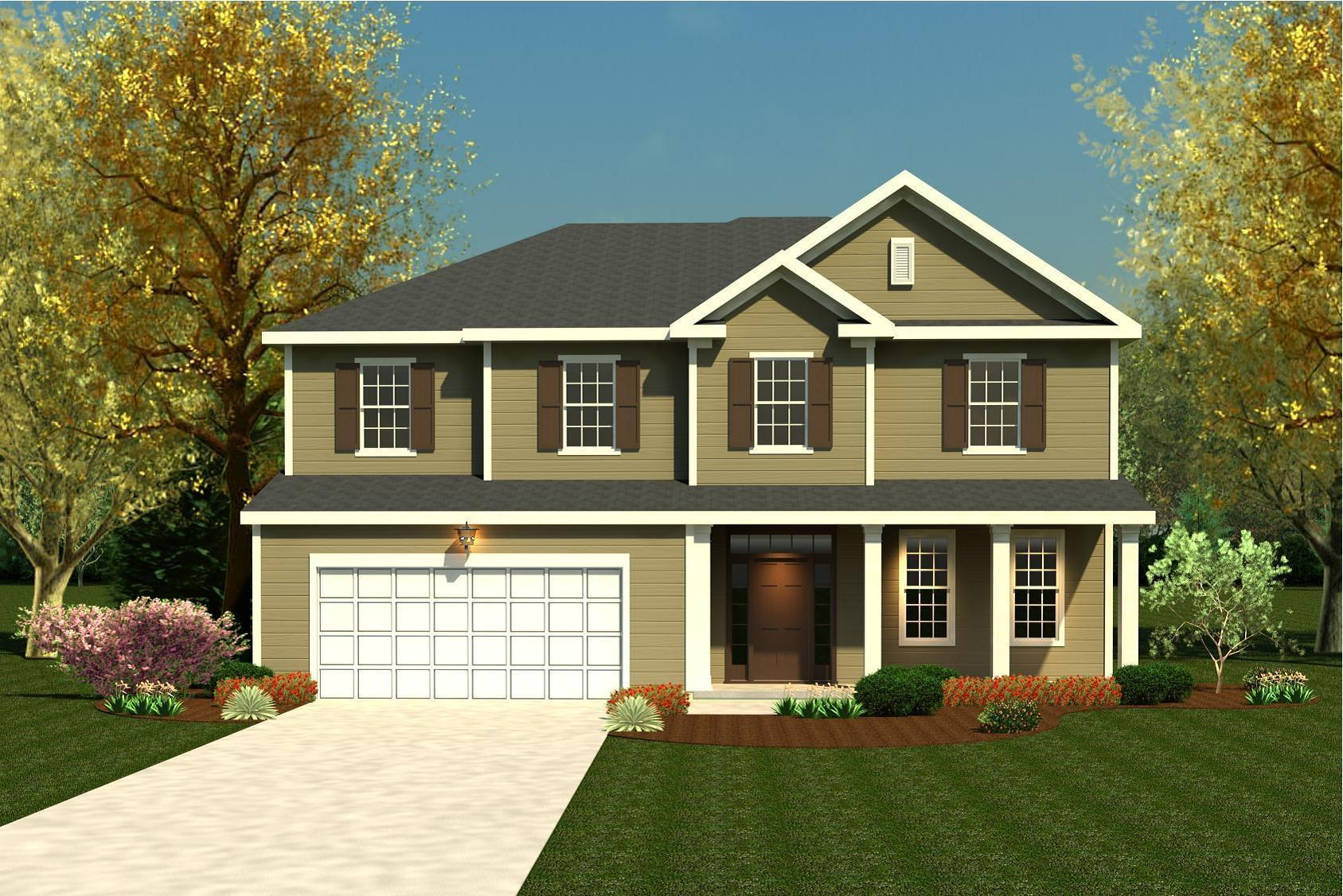 Exterior featured in the Hemingway By Ivey Residential in Augusta, GA