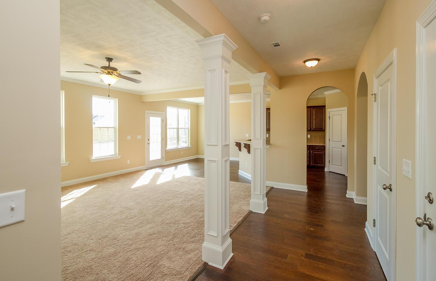 Living Area featured in the Kingsland II By Ivey Residential in Augusta, GA