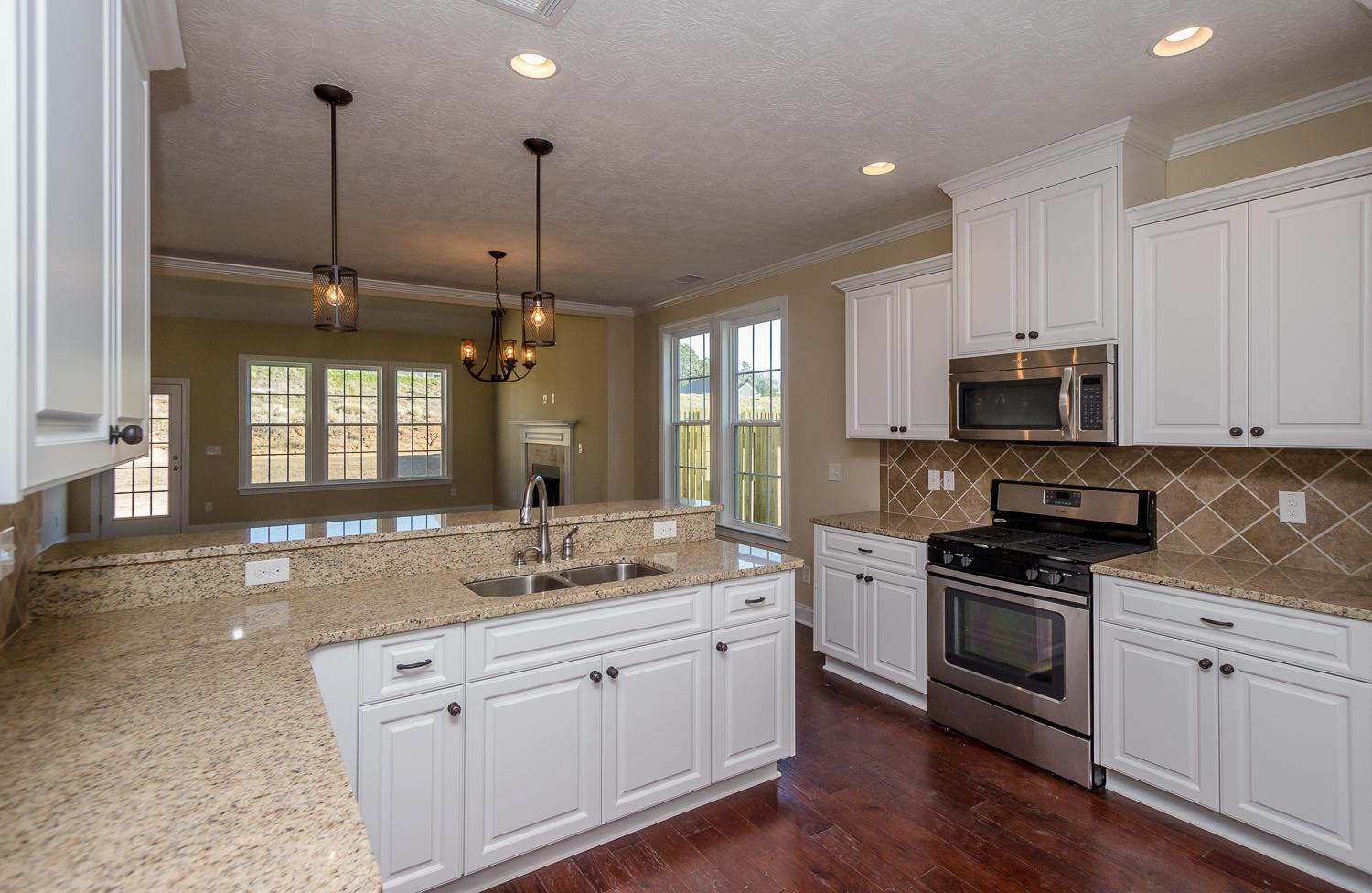 Kitchen featured in the Maplewood By Ivey Residential in Augusta, GA