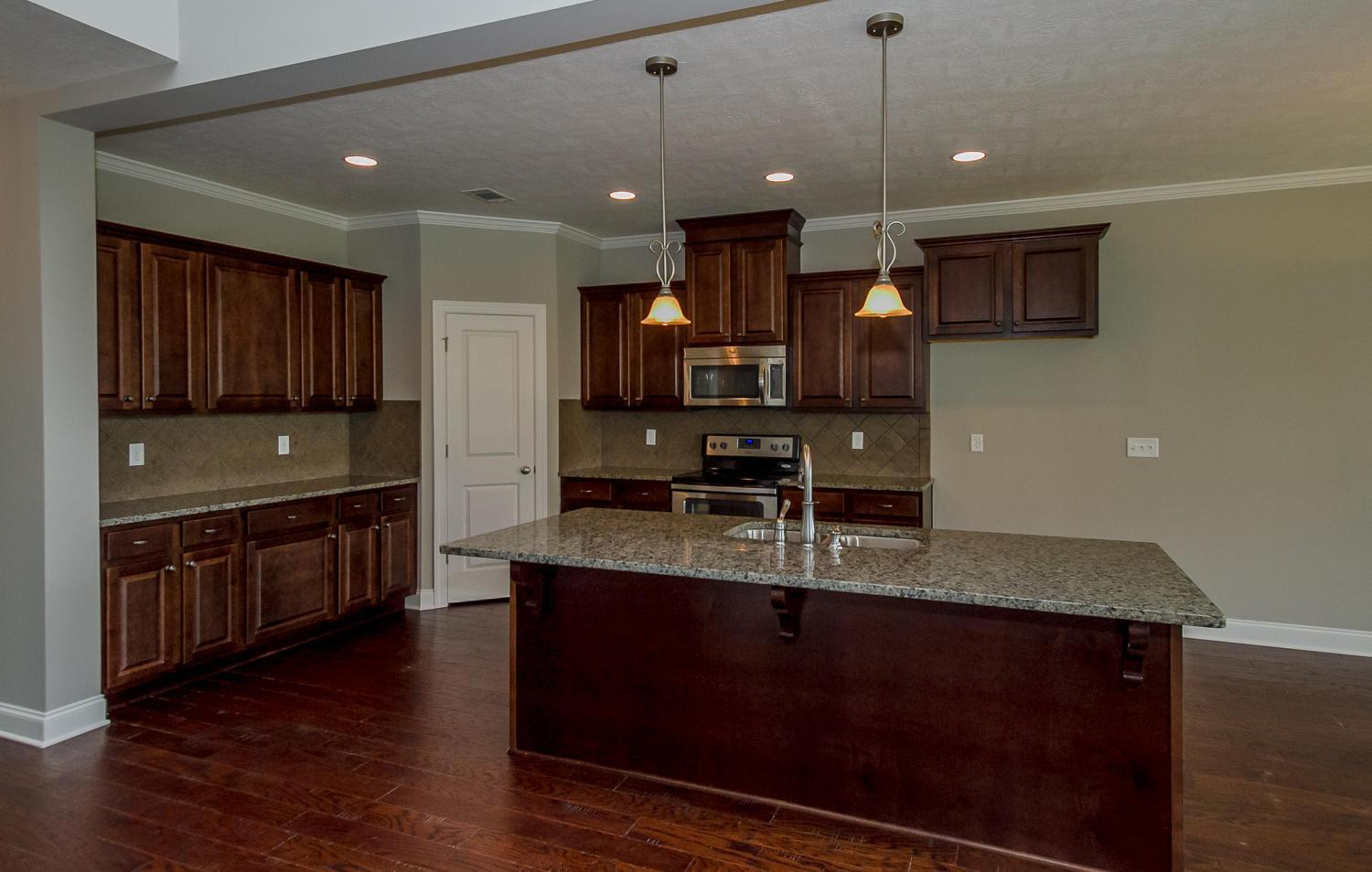 Kitchen featured in the Stapleton By Ivey Residential in Augusta, GA