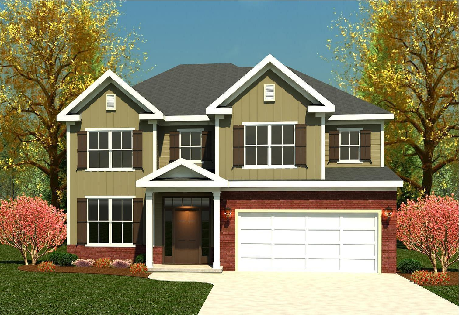 Exterior featured in the Parkwood By Ivey Residential in Augusta, GA