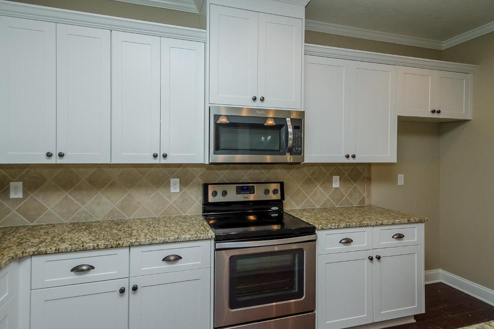 Kitchen featured in the Parkwood By Ivey Residential in Augusta, GA