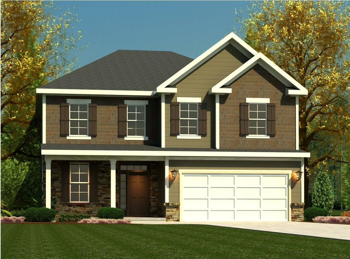 Exterior featured in the Fairport II By Ivey Residential in Augusta, GA