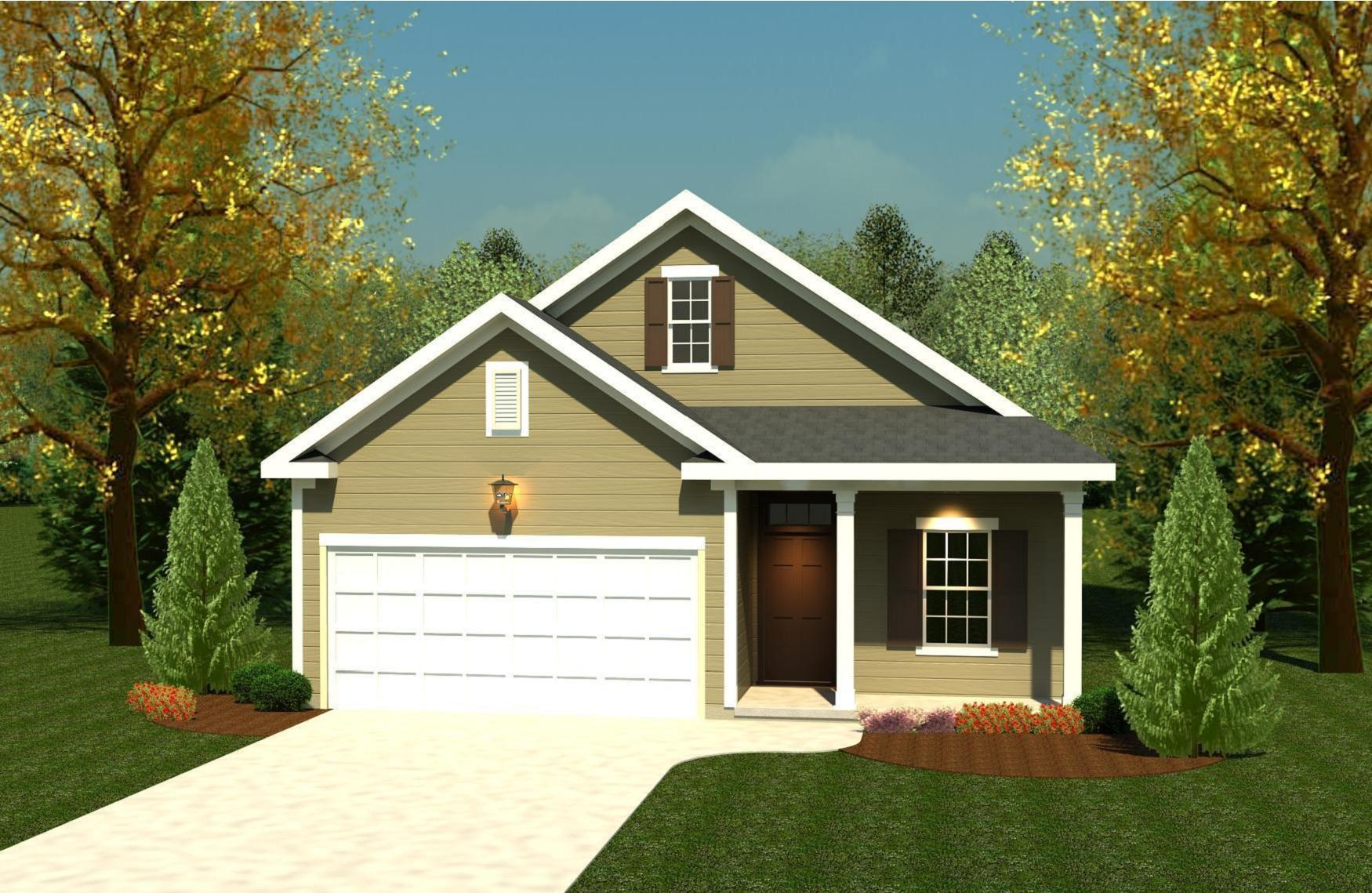 Exterior featured in the 1575 Plan By Ivey Residential in Augusta, GA