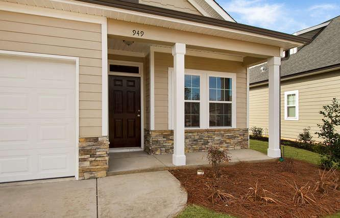 Exterior featured in the 1575 Plan By Ivey Residential in Augusta, SC